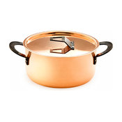 """Chef Series™ 2mm Copper Stock Pot 10"""" with Lid"""