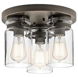 Industrial Flush-mount Ceiling Lighting by Littman Bros Lighting