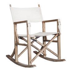 Burnham Home Designs Foldable Rocking Chair