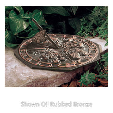 Butterfly Sundial, Oil Rub Bronze