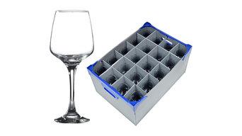 New - Wine Glasses and Glassware Storage Boxes