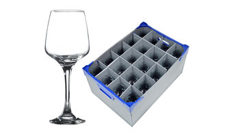 New - Wine Glasses and Glassware Storage Boxes