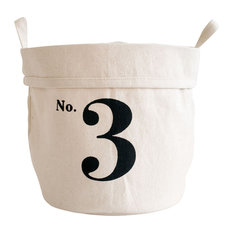 """""""No. 3"""" Recycled Canvas Bucket, Small"""