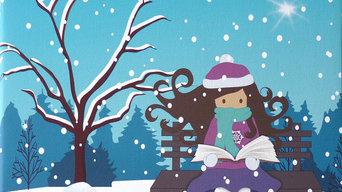 Zoé et le conte d'hiver / Tableaux chambre Enfant et Bébé