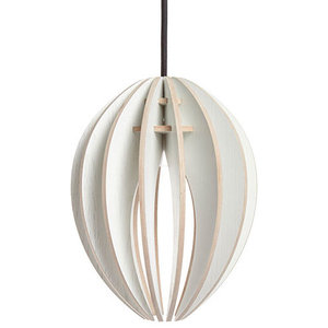 Gone's Bud Pendant Lamp, White Stained Ash