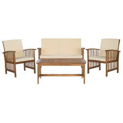 Cool Transitional Outdoor Lounge Sets by Safavieh
