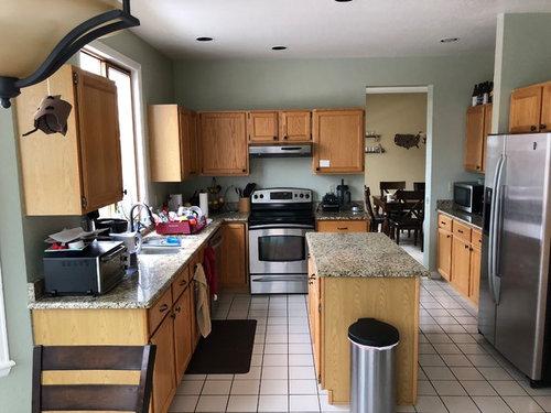 Kitchen remodel, 42\