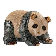 Panda Ceramic Sculpture