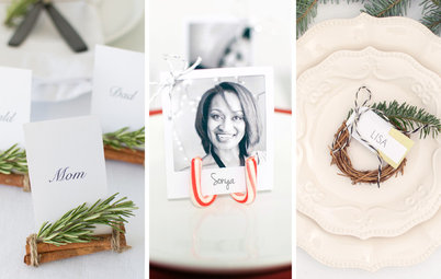 DIY: Creative Seat Cards for Your Holiday Place Settings