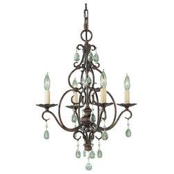 Superb Mediterranean Chandeliers by ALCOVE LIGHTING
