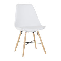 Cross New Dining Chair, White
