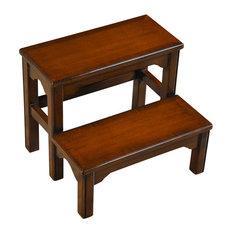 Niagara Furniture Mahogany Bed Step Ladders And Stools