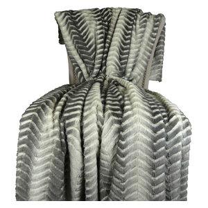 "Plutus Cuddle Mirage Handmade Bedspread, 80""x110"""