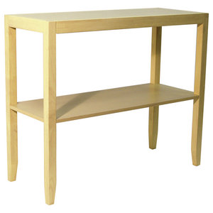 Anywhere Solid Wood Console Table, Natural