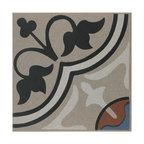 SomerTile Grava Quatro Porcelain Floor and Wall Tile, And Centro
