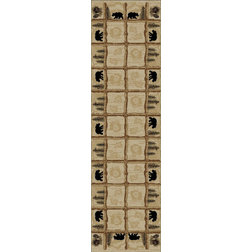 Rustic Hall & Stair Runners by Mayberry Rugs