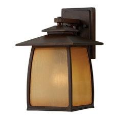 OL8501SBR Wright House 1-Light Outdoor Lantern, Sorrel Brown