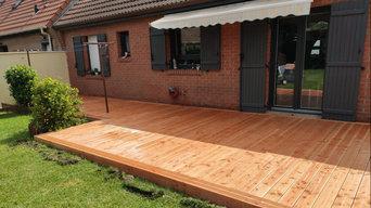 Projet d'aménagement d'une terrasse bois