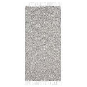Goose Graphite Grey Vinyl Floor Cloth, 150x250 cm