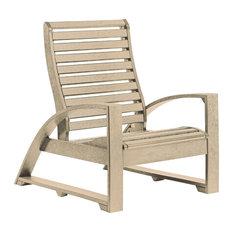 St Tropez Lounger Chair, Beige