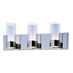 3-Light Chrome Bath Light