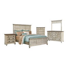 Sunset Trading Shades Of Sand 5 Piece King Bedroom Set CF-2302-0489-K-5PC