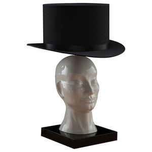 """OM"" Head Table Lamp"