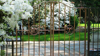 Solid Copper Gates, Trellis and Fence
