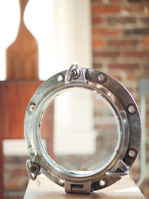 Aluminum Porthole - Home Decor
