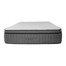"""Snoozzz 14"""" TitanFlex Luxury Hybrid Mattress, King, Medium"""