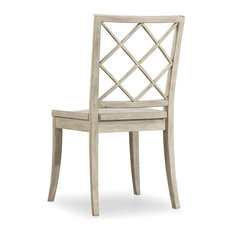 Hooker Furniture Sunset PointxBack Chairs, Set of 2, Hatteras White, Side