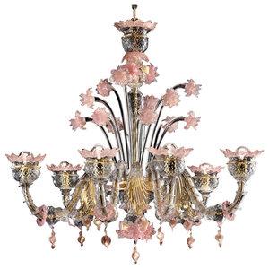 Sissi Murano Glass Chandelier