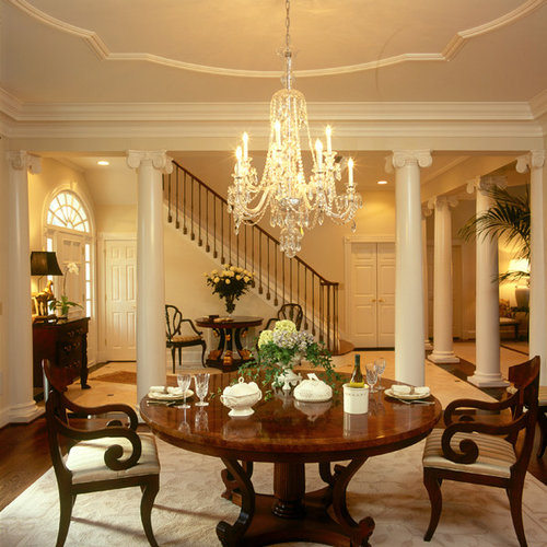 Classic american home houzz for Home decor interior design