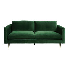 Living by Christiane Lemieux - Henry Sofa, Emerald Green, 3-Seater - Sofas