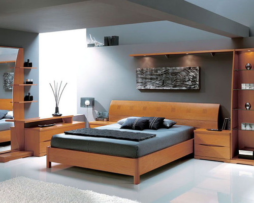 Made in Spain Wood Platform Bedroom Set with Extra Storage   Bedroom  Furniture Sets. Master Bedroom Sets  Luxury Modern and Italian Collection