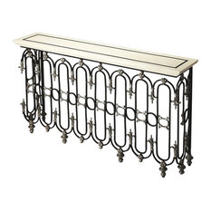 Butler Specialty Company - Vienna Fossil Stone Console Table - Multi-Color - Console Tables