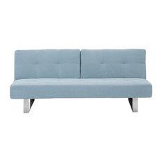 Beliani LLC - Dublin Upholstered Sofa Bed, Mint - Sofa Beds
