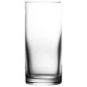 Clear Lead Crystal Highball Glasses, Small, Set of 6