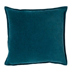 "Arleen Contemporary Down Filled Accent Pillow Teal 18""x18""x4"""