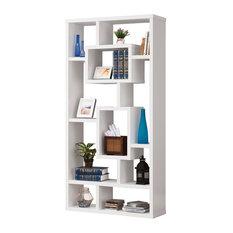 Coaster Geometric Cubed Rectangular Bookshelf