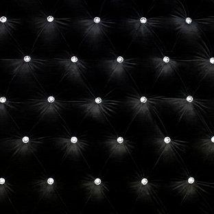 Fabric walling - Chesterfield Headboard