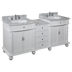 Cool Transitional Bathroom Vanities And Sink Consoles by Kitchen Bath Collection