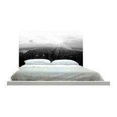 -inchNew York In Black And White-inch Headboard