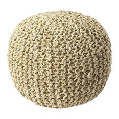 Pincushion Woven Pouffe