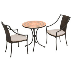 Tropical Outdoor Pub And Bistro Sets by Home Styles Furniture