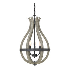 """Savoy House 7-9262-3 Carrolton 3 Light 16"""" Taper Candle Chandelier"""