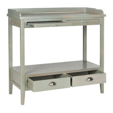 Safavieh Peter Console Table French Gray
