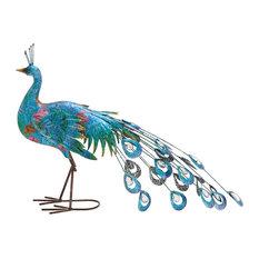 Paco the Peacock Garden Sculpture