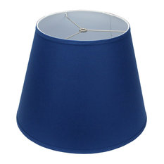 """FenchelShades Empire Lampshade, Linen Prussian 11""""x17""""x13"""""""