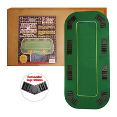 Trademark Poker   Texas Holdu0027em Full Size Folding Table Top   Game Table  Accessories